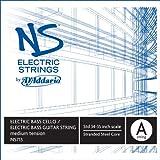 D'Addario NS Electric Bass/Cello Single A String, 4/4 Scale, Medium Tension