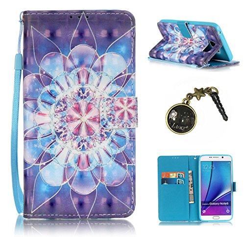 PU Carcasa de silicona teléfono móvil Painted PC Case Cover Carcasa Funda De Piel Caso de Shell cubierta para Samsung Galaxy Note 5N920+ Polvo Conector blanco 1 8