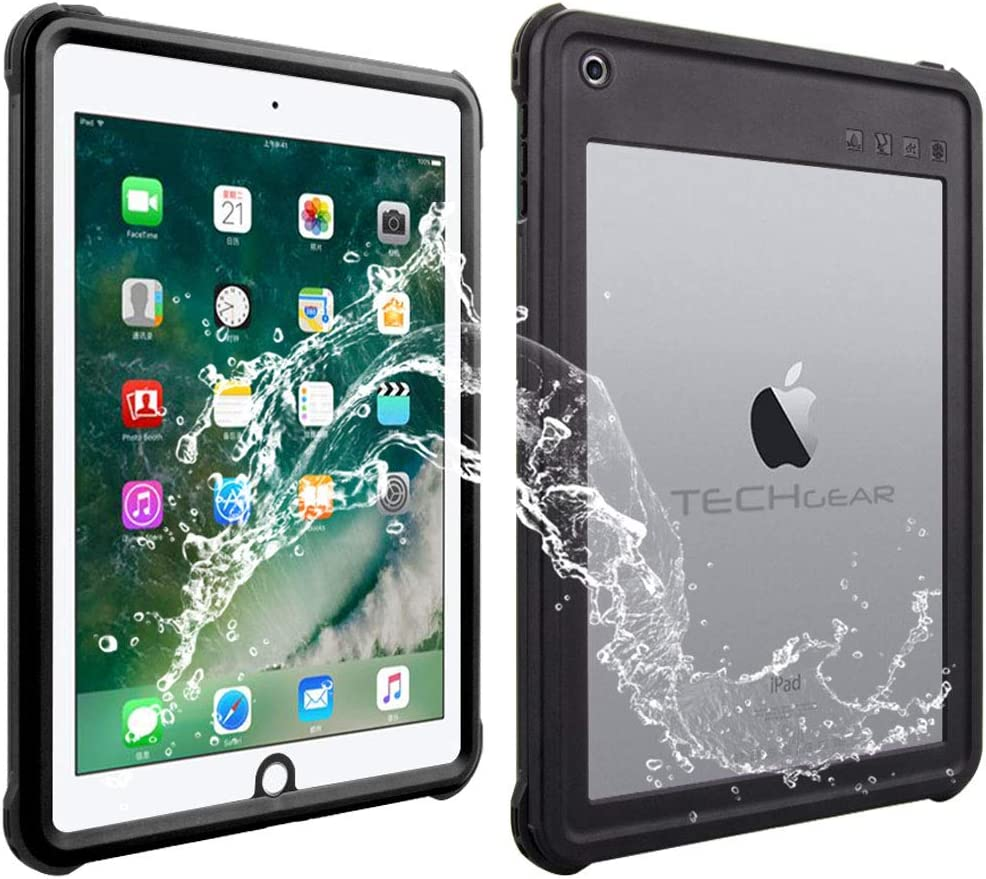 Techgear Waterproof Case For Ipad 9 7 2018 Computers Accessories