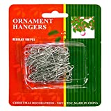 Christmas Ornament Hooks - 1.38 in. Hooks - 100 Pack
