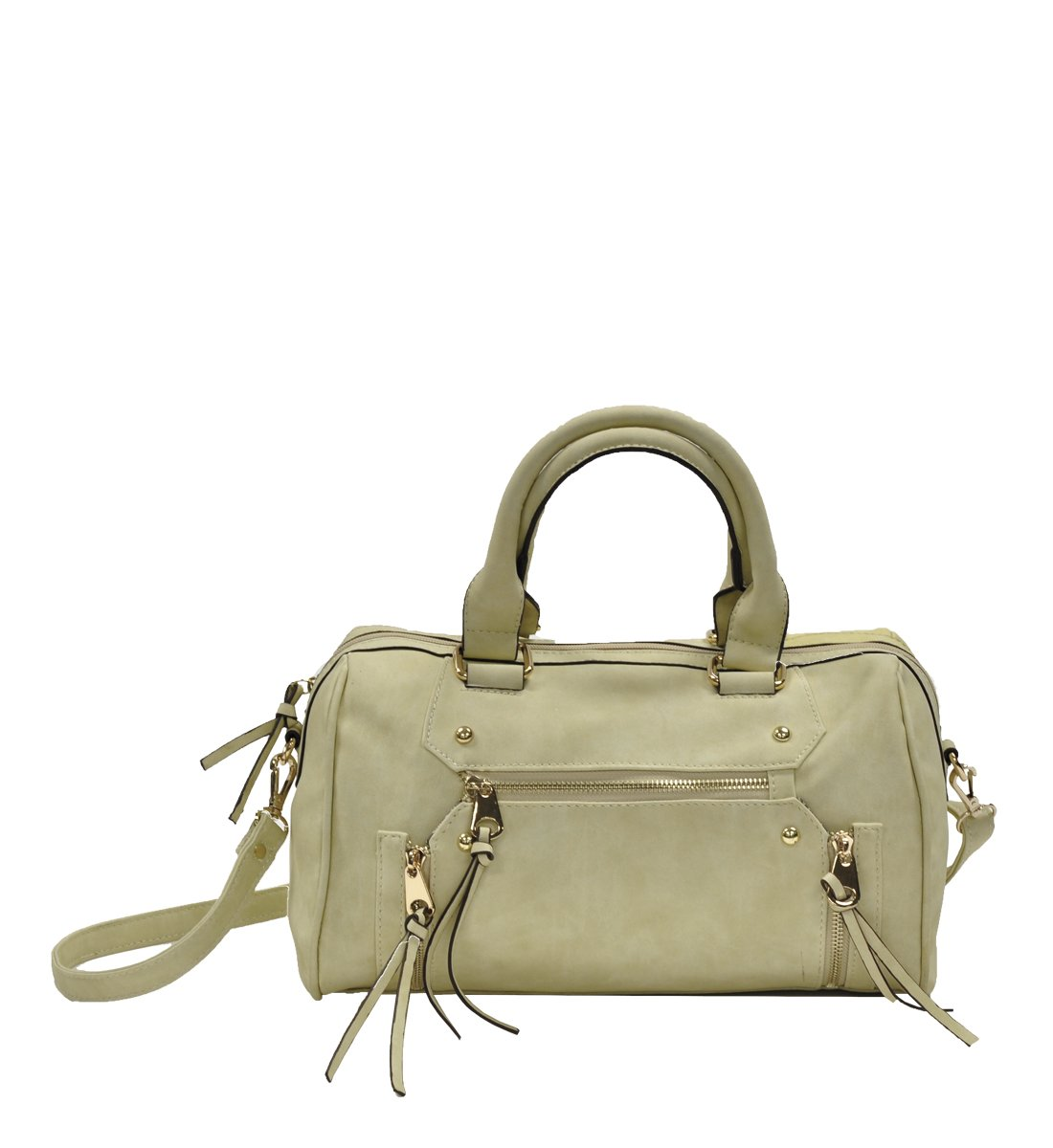 MoDA Athena Goddess Women's Summer Satchel Handbag, Cream