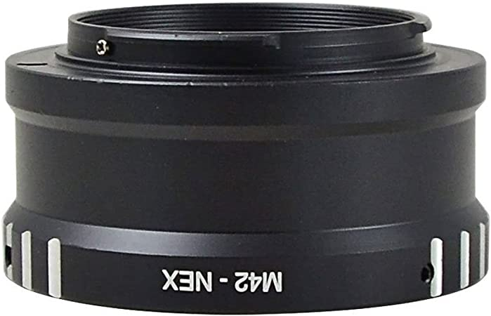 MENGS M42-NEX Lens Mount Adapter Ring Aluminum Material for M42 Lens to Sony NEX3 NEX5 Camera Body
