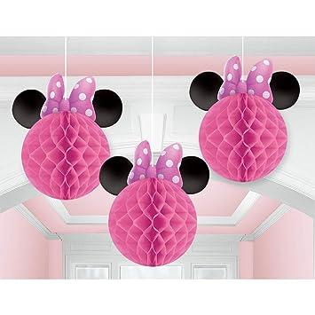 Amscan Minnie Maus zum Aufhängen Maus Ohren Party Dekoration Single ...