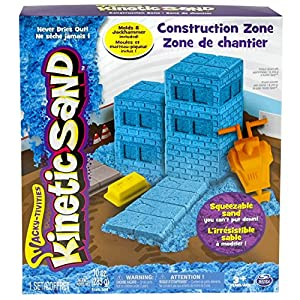 Kinetic Sand Construction Zone Playset - 61OXk4bvbiL - Kinetic Sand Construction Zone Playset
