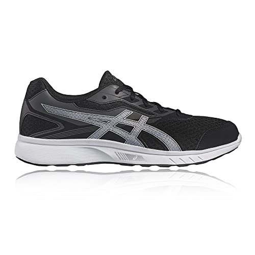 Asics - Stormer - Zapatillas Neutras - Black/Silver/White: Amazon ...