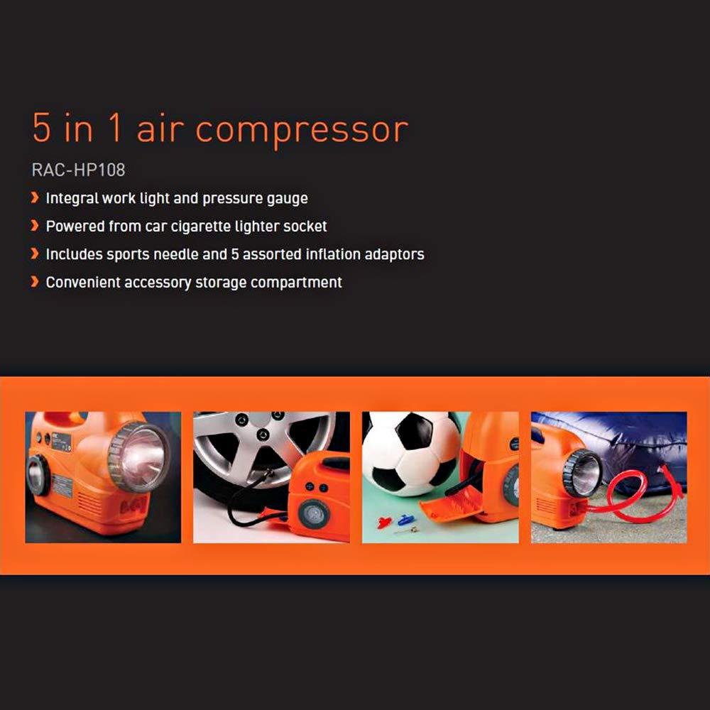 RAC-HP108 5-in-1 Air Compressor