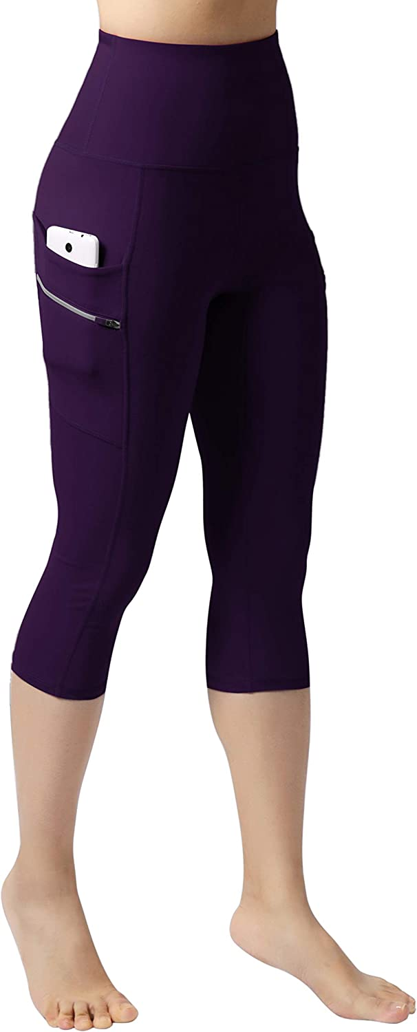 Full-Length Leggings with Dual Pockets ODODOS Womens High Waisted Tummy Control Workout Pants