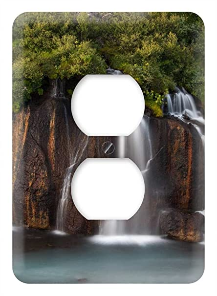 Amazon.com: WaPlate - beautiful row of waterfalls - Switch ...
