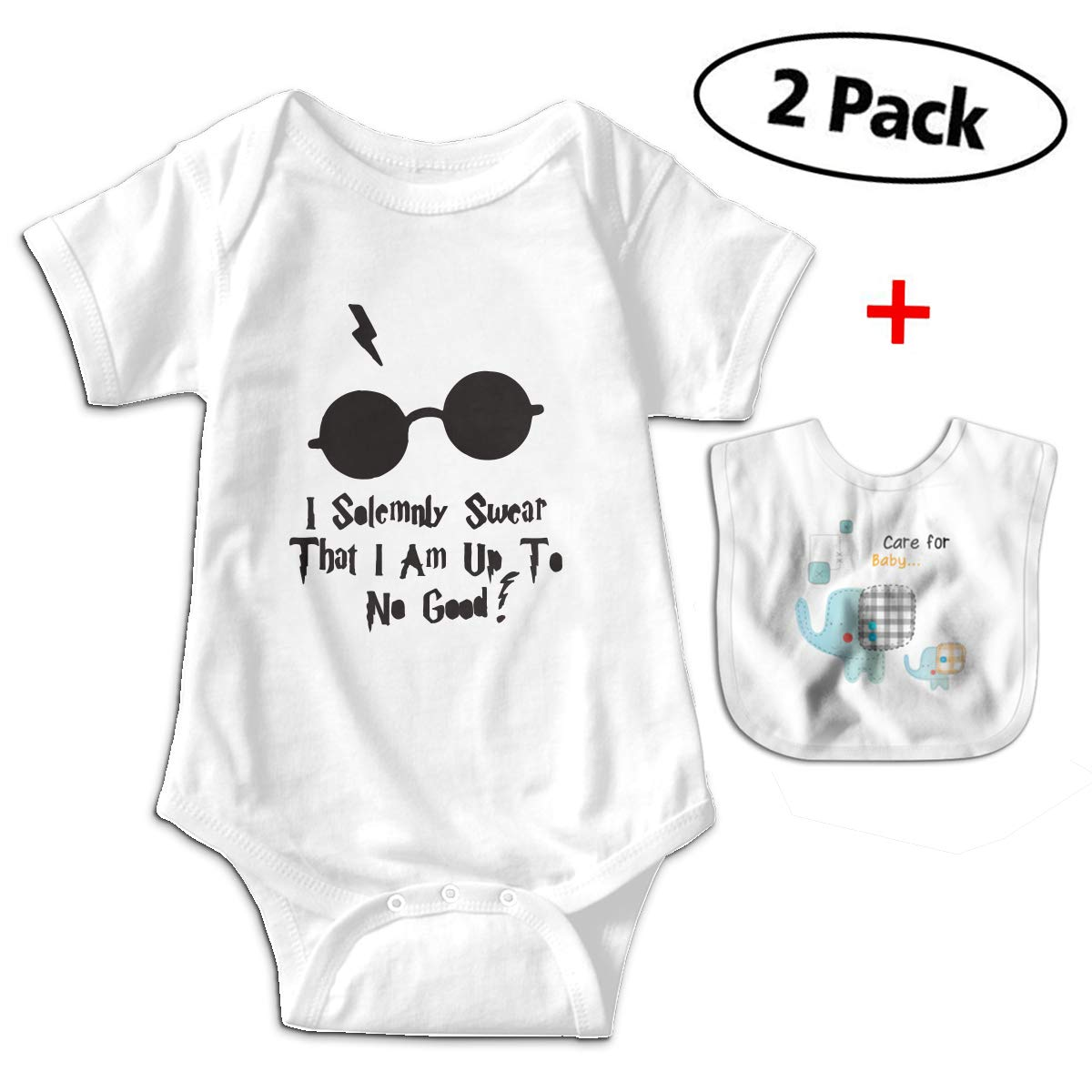 8337cff9d Amazon.com: Benunit I Solemnly Swear That My Aunt Baby Boy Cotton  Short-Sleeve Onesies Shower Gifts One-Piece: Clothing