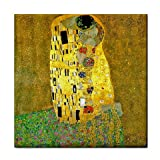 The Kiss By Gustav Klimt Tile Trivet
