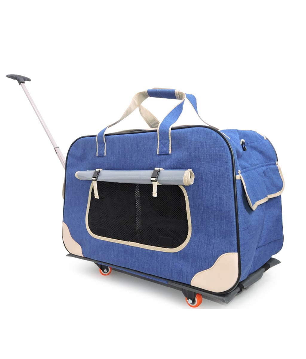 Breathable Lever Out Pet Bag (bluee for 13Kg Cats and Dogs Other Pets)