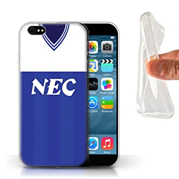 Phone Case/Cover/Skin/IP-gc/Retro Camiseta de fútbol/Kit división 1 Colección, Everton 1985, Apple iPhone 6S: Amazon.es: Informática