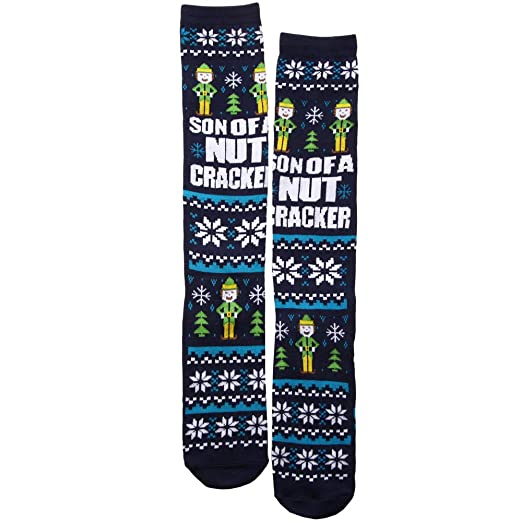 bd89411f1 Image Unavailable. Image not available for. Color  Elf Son of a Nutcracker  Women s Knee High Socks