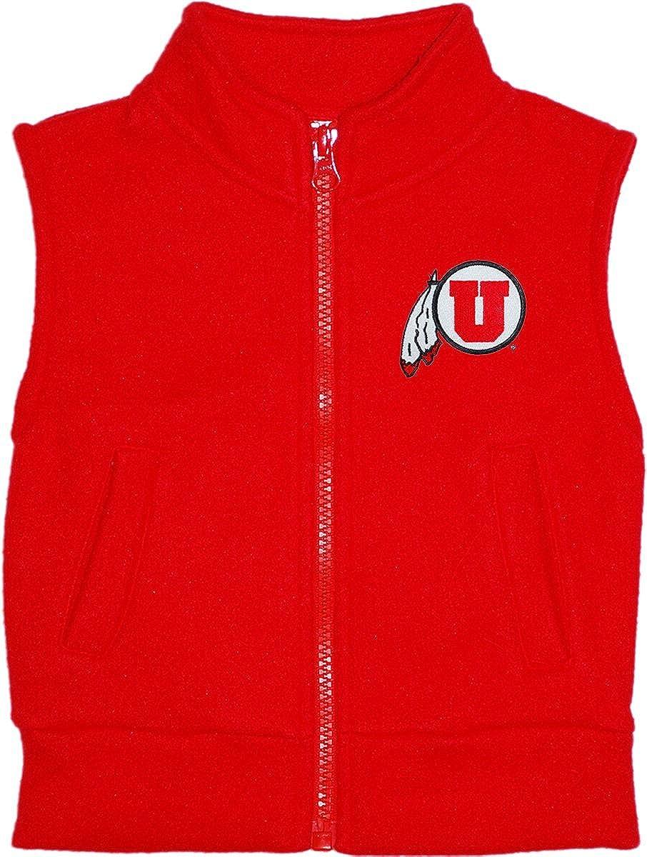 Creative Knitwear University of Utah Utes Baby and Toddler Polar Fleece Vest