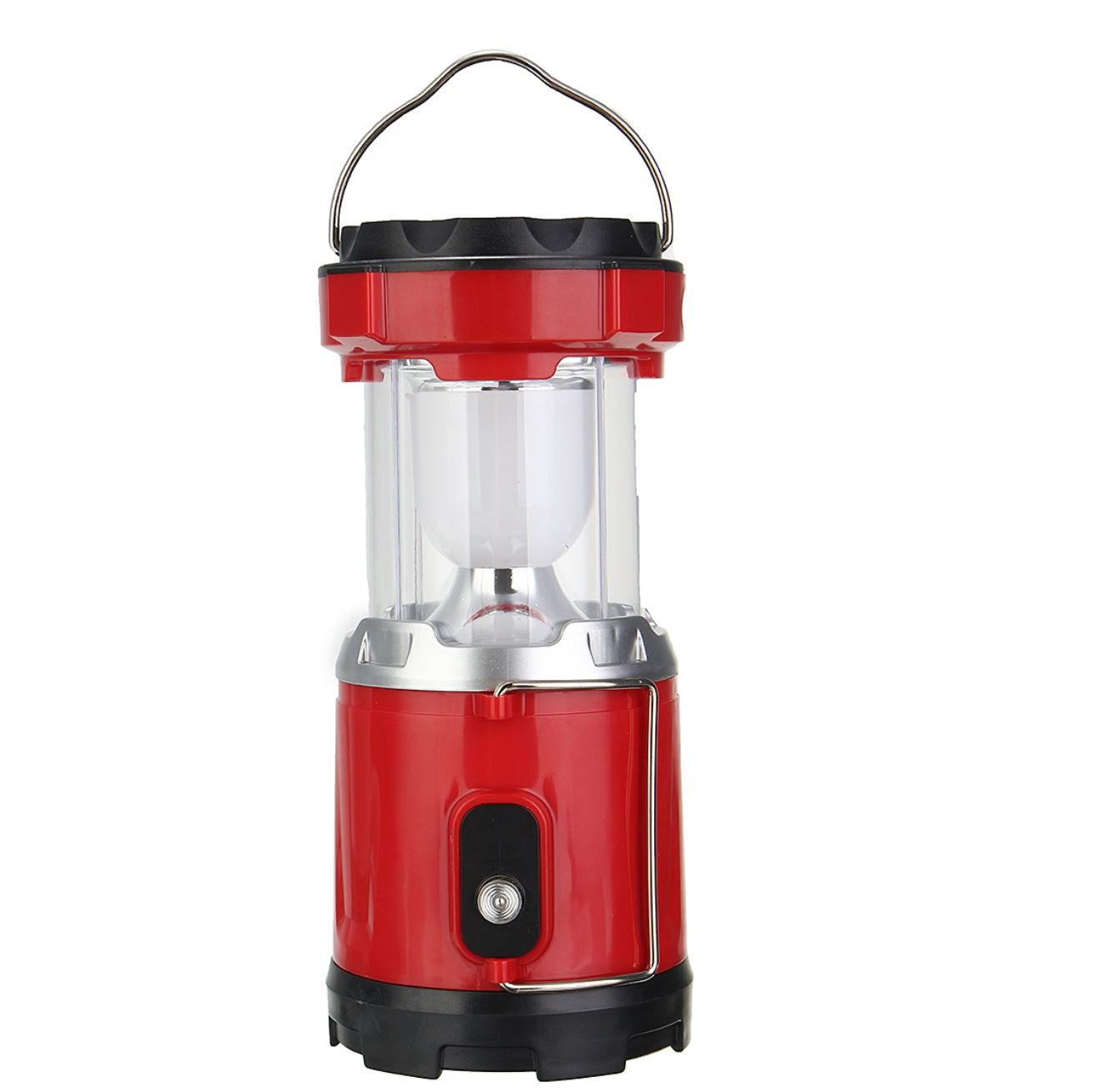 Portable Collapsible 5W LED Light Camp Solar DC Rechargable Lantern Emergency Torch by Superjune