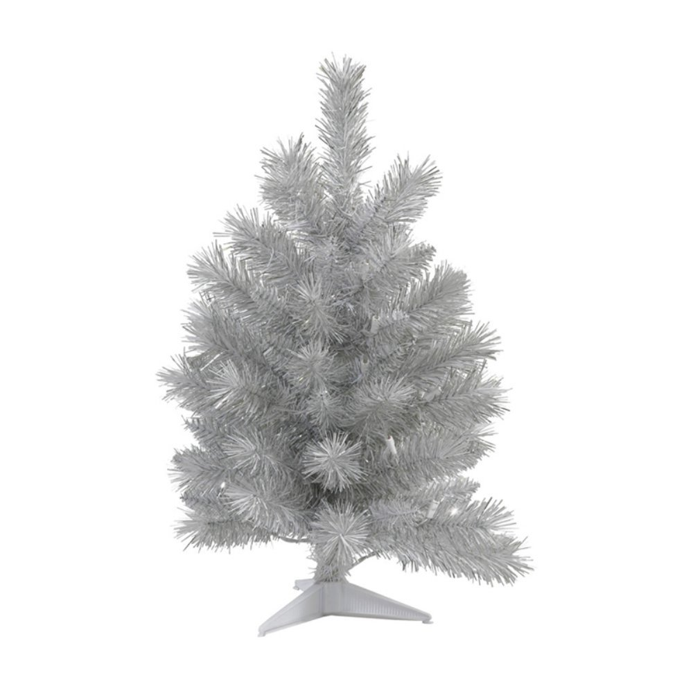 Silver Pine Table Top Christmas Tree