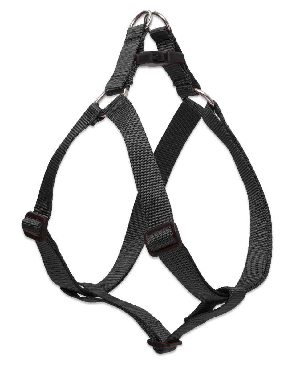 Lupine Step-In Harness for Larger Dogs, 19 to 28-Inch Girth, 1-Inch Wide, Black