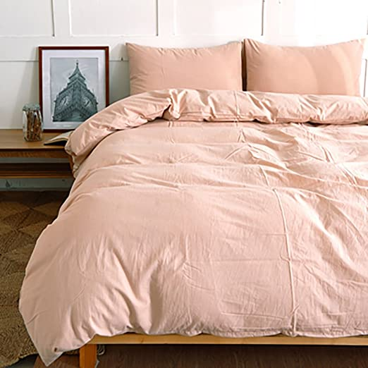 Juego de sábanas 100% algodón de 4 capas de cama de algodón Juego de sábanas