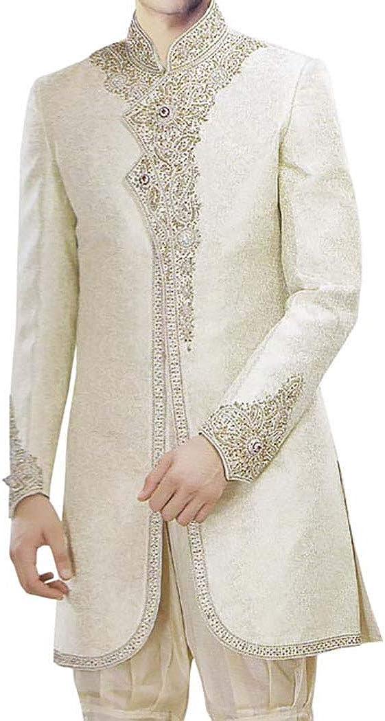 Royal sherwani green indowestern sherwani Custom made men wool wedding shewani Indian wedding suit Men groom sherwani