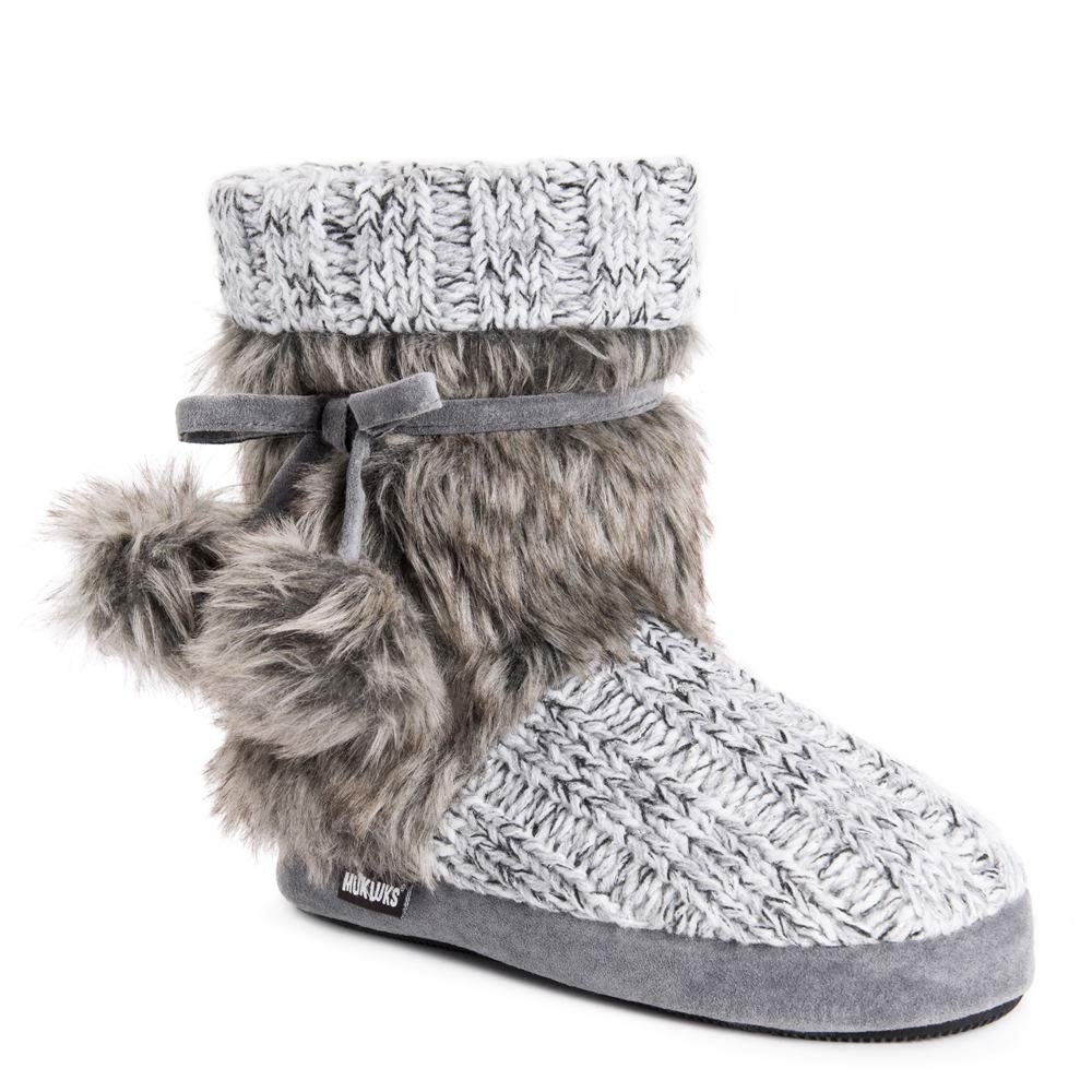 Grey MUK LUKS Womens Women's Delanie Slippers Slipper