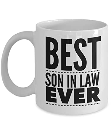 Amazon Son In Law Gift Funny Mug Laws