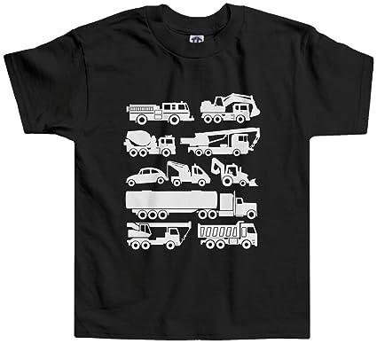 432e84bc8 Amazon.com: Threadrock Little Boys' Trucks Toddler T-Shirt: Clothing