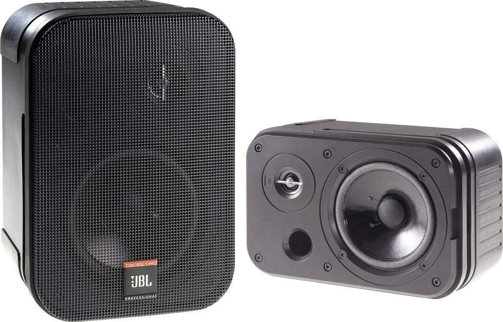 Jbl Control 1 Pro Passiver Monitor Lautsprecher 13 5cm 5 25 Zoll 75w 1 Paar Audio Hifi