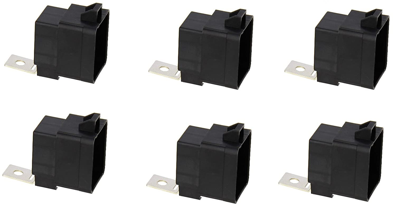Hella H41410081 Weatherproof 20 40 Amp Spdt 280 5 Pin Relay Footprint Mini With Bracket Automotive