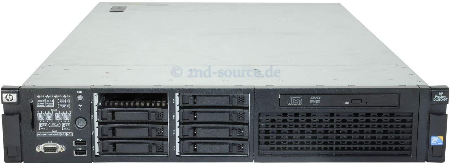 HP 583914-B21 PROLIANT DL380 G7 SFF CTO