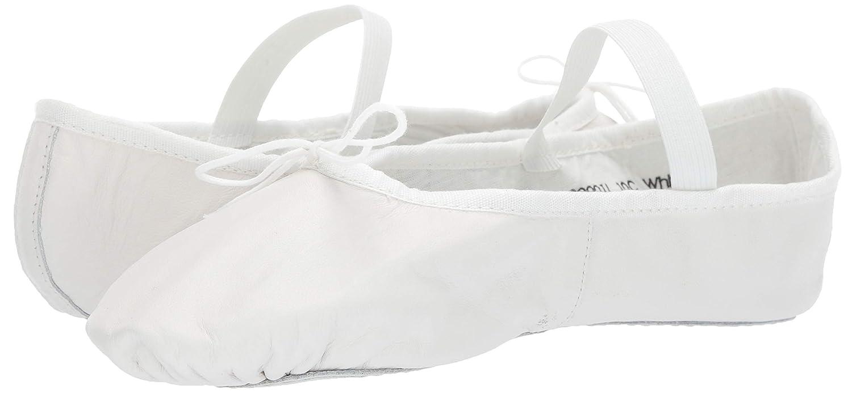 Bloch Dance Womens Ballet Russe Dance Shoe White 4.5 B US
