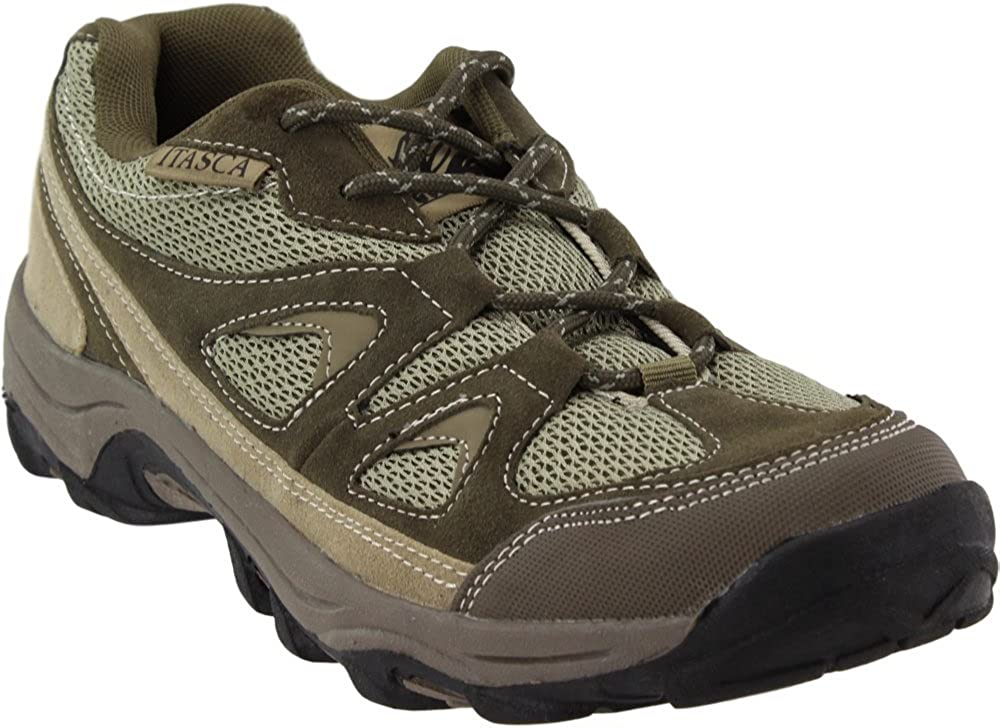 Itasca Mens Striker Ii Lightweight Suede and Nylon Hiker Hiking Boot