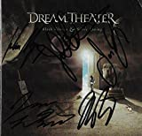 #8: Dream Theater REAL hand Signed Black Clouds Silver Linings CD Portnoy COA #A