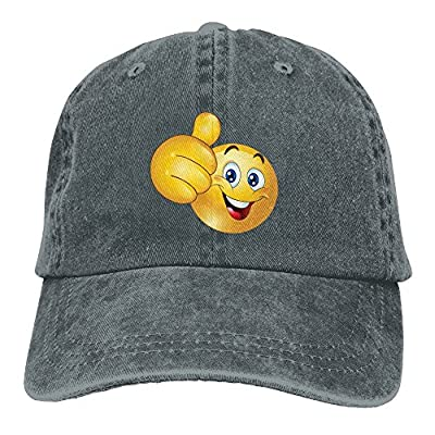 FBGVFD Emoji Small Baseball Caps Concise Fitted Sized Personalized Hats For College Students