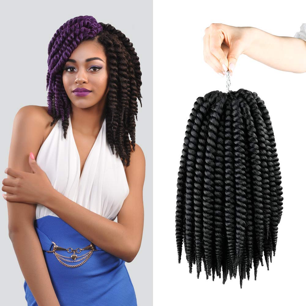 Amazoncom Authentic Synthetic Hair Crochet Braids Perfect 12 2x