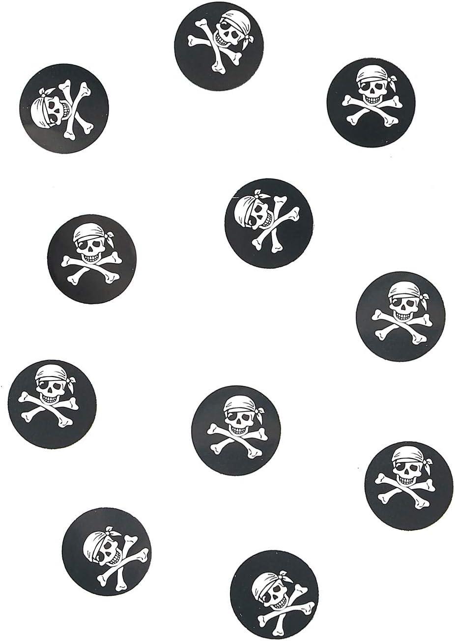 150 Confetis de mesa pirata: Amazon.es: Juguetes y juegos