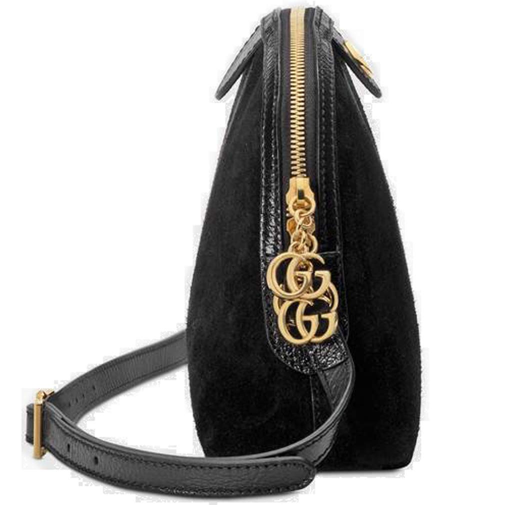 698a61e9acd Amazon.com  Gucci Ophidia Small Shoulder Bag Black Article  499621 D6ZYG  1060 Made in Italy  Shoes