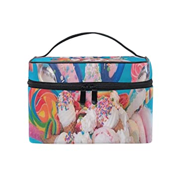 5dfb9f63cd02 Makeup Bag Unicorn-Inspired Foods To Try Cosmetic ... - Amazon.com