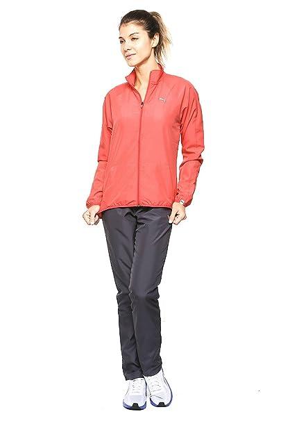 ab58fcf15b835 Puma Conjunto Active Good Woven Suit Conjunto Deportivo para Mujer Rosa  Talla XS