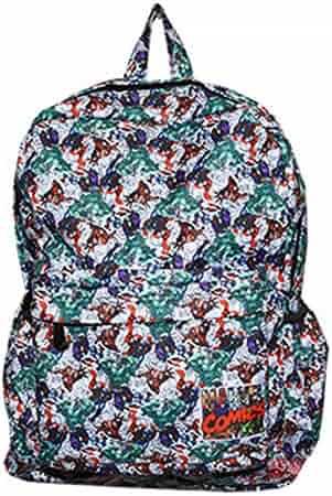 YOURNELO Boy s Girl s Leisure Tiled Marvel DC Comics High Capacity Rucksack  School Backpack 93e8f03491