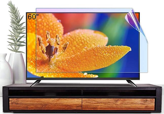 ZSLD Protector De Pantalla De TV LCD De 60 Pulgadas, Antideslumbrante/Película De Filtro De Luz Azul, Protección contra La Radiación para Proteger Sus Ojos, para LCD LED,1327 * 749mm: Amazon.es: Hogar