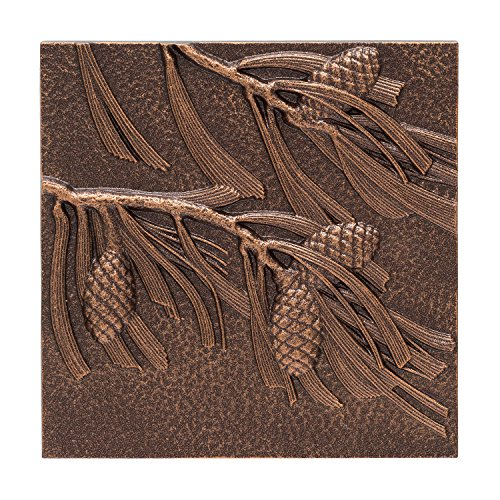 Whitehall Products Pinecone Wall Decor, Antique Copper (Whitehall Products Color)