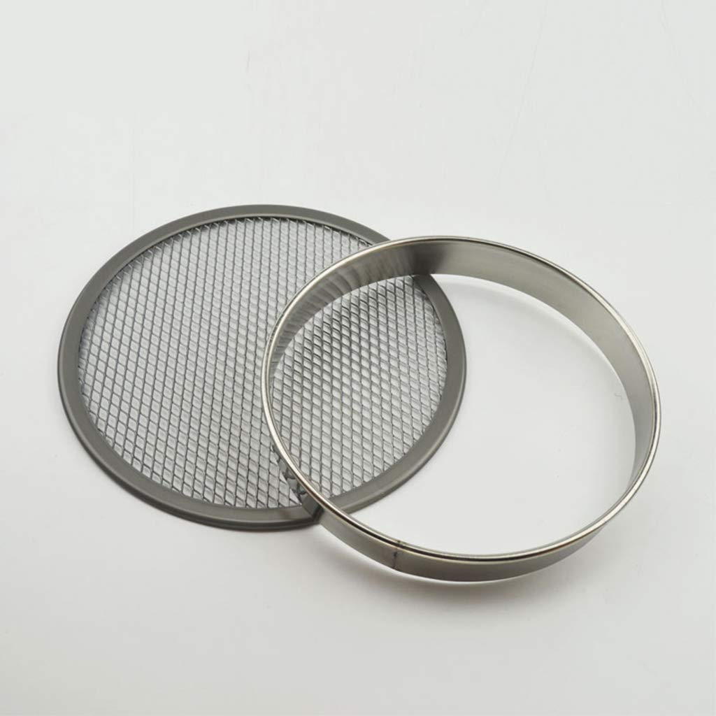 Stainless Steel Metal Ring Baking Molds for Pizza Donuts /& Scones Muffins Crumpets 9 inch, 12 inch Flameer 2 Pack of