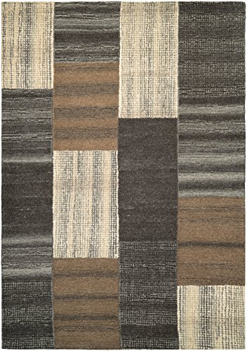Couristan Indo Natural (Couristan Super Indo-Natural Collection Luster Rug, 3 by 5-Feet, Brown)