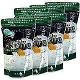 Japanese Tea Shop Yamaneen Lightly-Pickled Vegetables Of Moto Solt With Mekabu 290g x 6packs