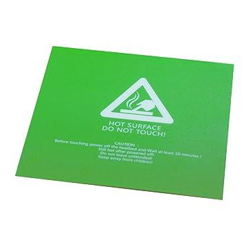 Genrico Etiqueta Engomada Verde de Plataforma de Cinta Placa de ...