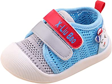 GEMVIE Zapatos Primeros Pasos para Bebé Niños Niñas Suela Antideslizante Deporte: Amazon.es: Zapatos y complementos