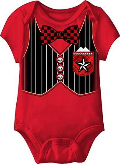 507dd2e1ce5 Image Unavailable. Image not available for. Color  Mexican Tuxedo Day Of  The Dead Red Romper ...