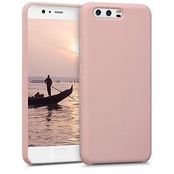 kwmobile Funda compatible con Huawei P10 - Carcasa de [TPU] para móvil - Cover [trasero] en [rosa oro mate]