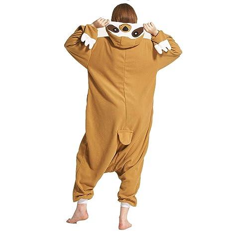 Schwarz S f/ür K/örpergr/ö/ße 150-158CM Jumpsuit Overall Schlafanzug Pyjamas Einteiler LPATTERN Erwachsene Damen//Herren Cartoon Kost/üm