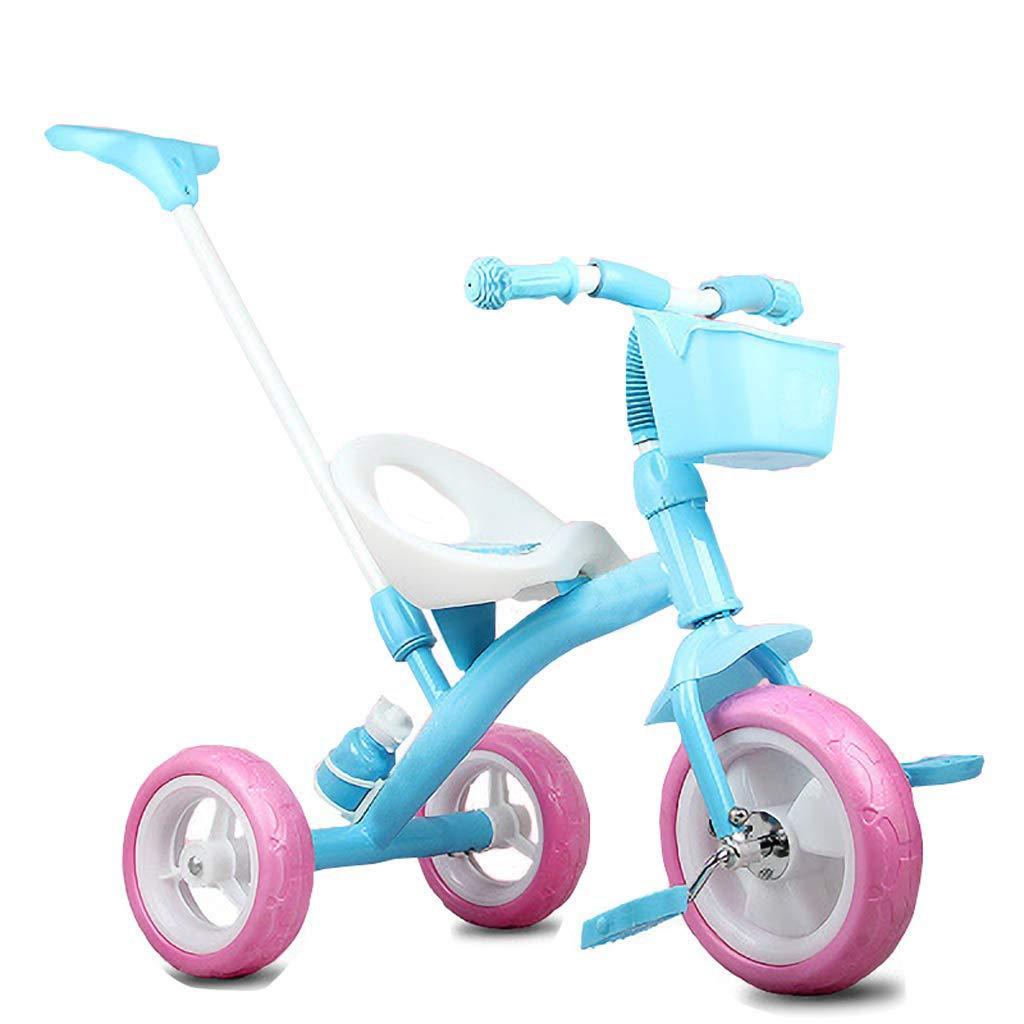 Kinder-Dreiradwagen 1-6 Baby Biking Kinderwagen (Farbe   Blau)